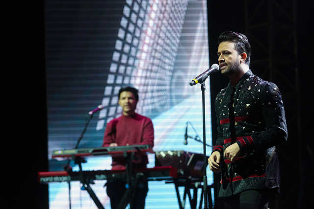 PICTURES: Atif Aslam thrills Bahrain music lovers
