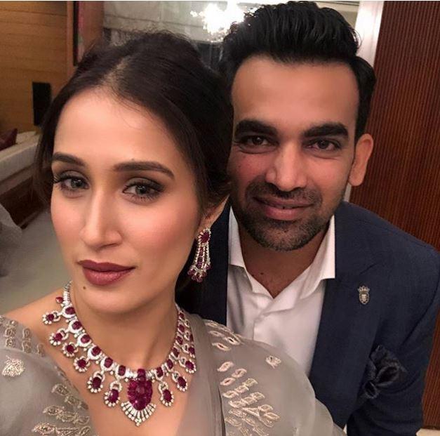 Celebs: More cricketers than movie stars at Zaheer Khan and Sagarika's post-wedding parties