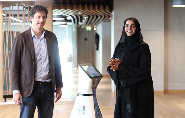 Humanoid robot 'Farah' starts work in Dubai