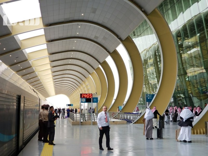 IN PICTURES: Saudi train makes maiden trip to Hai'l from Riyadh