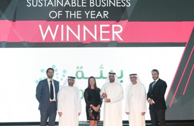Bee'ah wins top sustainable business award