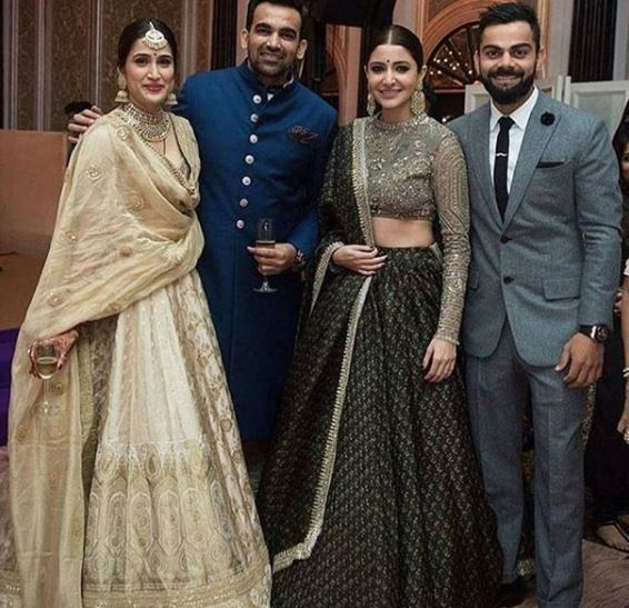 Celebs: Inside-the-Party: Photos and videos of the madness at Zaheer and Sagarika's reception!