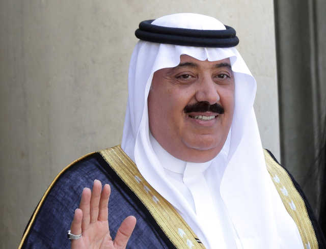 Prince Miteb bin Abdullah released by Saudi Arabia