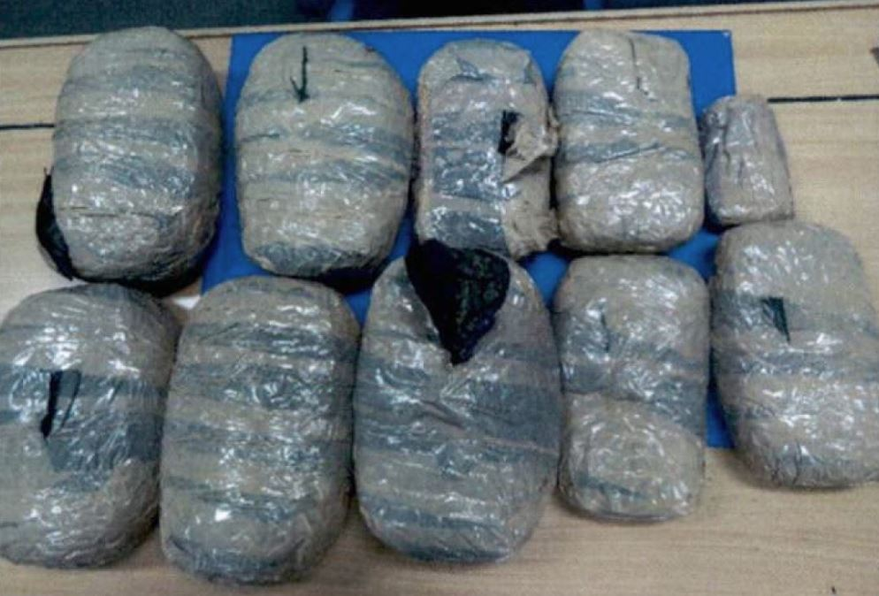 Asian expatriate caught with 7kg of marijuana