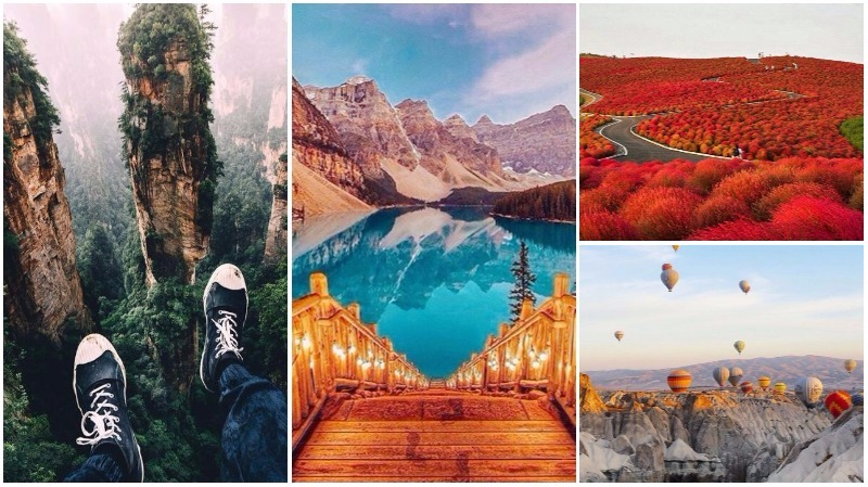 25 MAGICAL places you should visit at least once in your lifetime!
