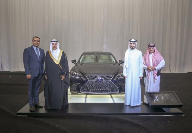 Lexus LS unveiled in Bahrain