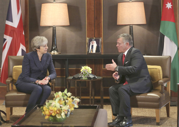 May seeks closer ties with Arabs