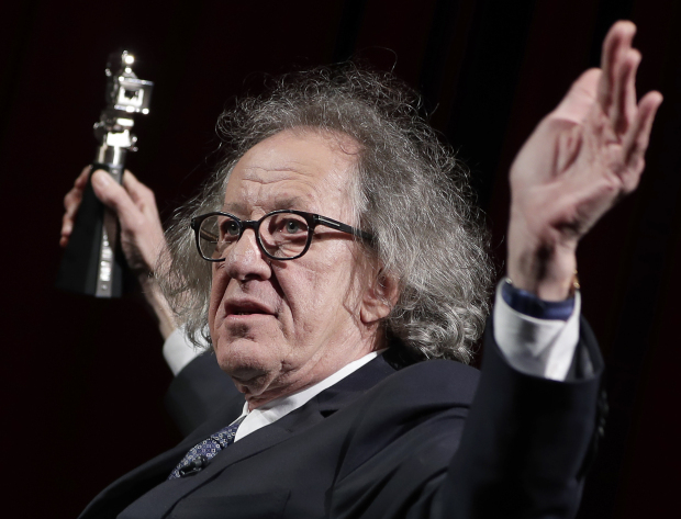 Geoffrey Rush steps down from Australian screen academy