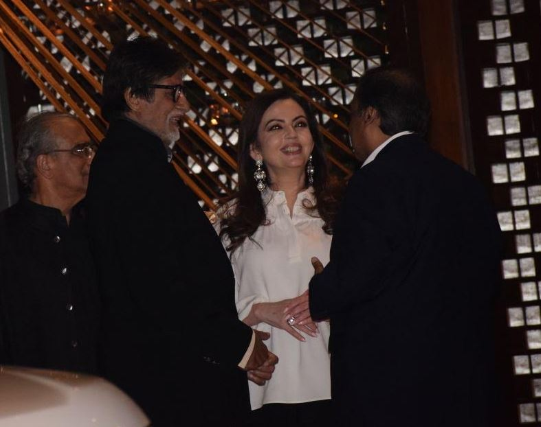 Bollywood: SRK, Katrina, Amitabh dazzle at star-studded Ambani bash for London mayor