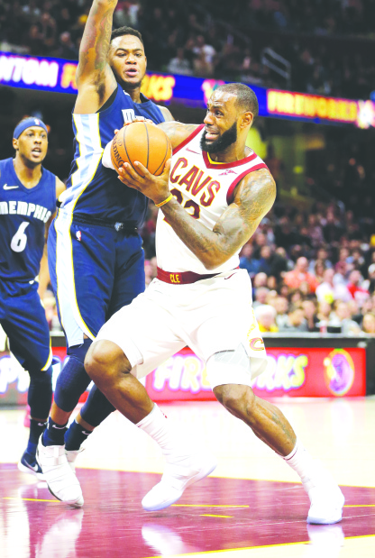 Cavaliers extend winning run to 11 games