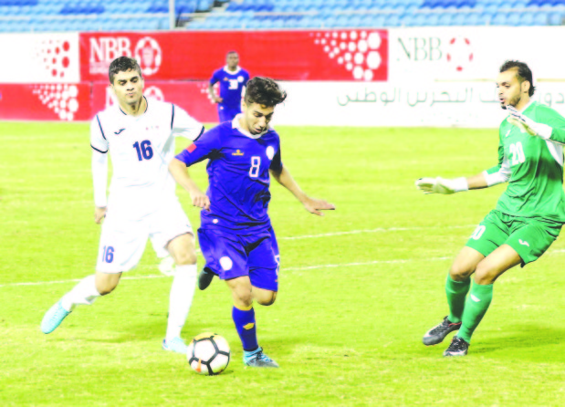 Al Najma battle to hold Ettihad