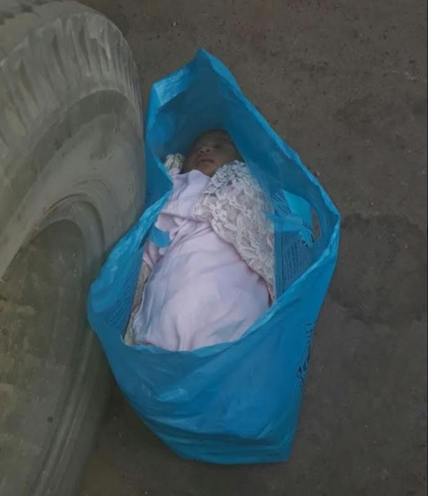 Newborn baby found abandoned in Mecca