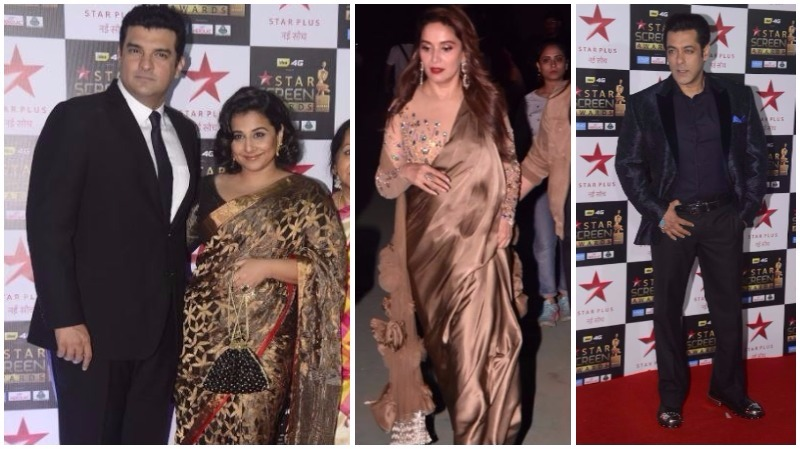 Bollywood stars at their fashionable best at the Star Screen Awards!