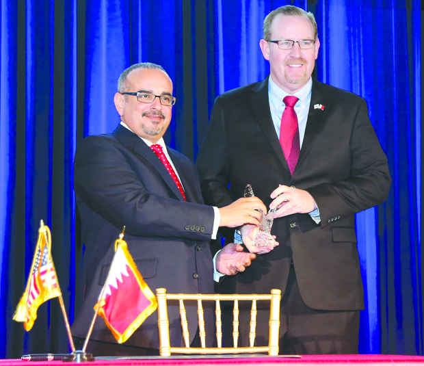 Alba honoured with first Bahrain-US FTA award