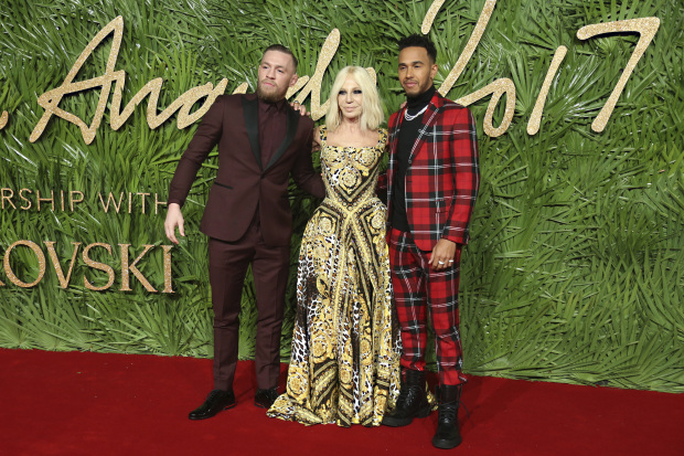 Celebs: BELLES OF THE BALL: The best dressed at the British Fashion Awards 2017