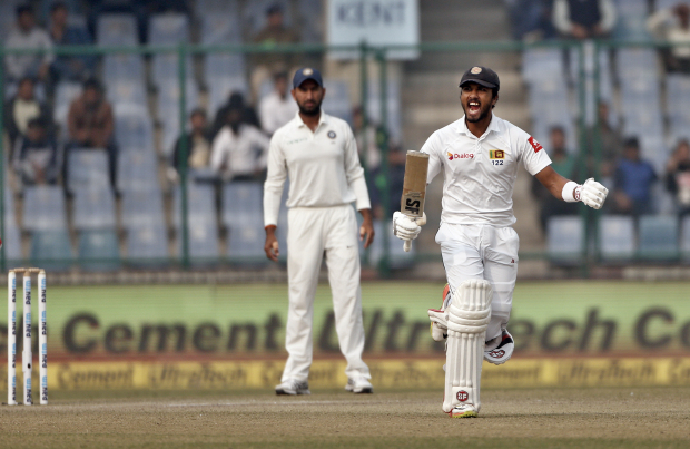 Chandimal and Mathews slam tons to revive Lankans