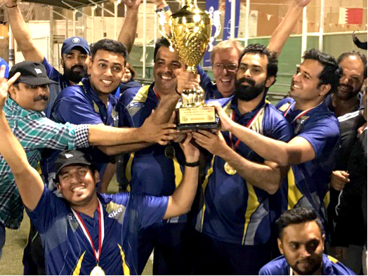 Almoayed Wilhelmsen clinch cricket crown