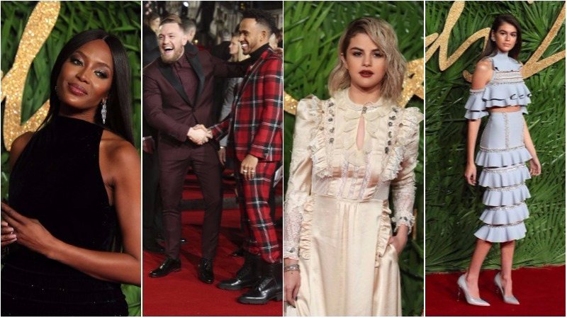 BELLES OF THE BALL: The best dressed at the British Fashion Awards 2017