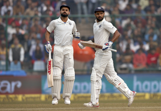 Sri Lanka wobble as India set a target of 410 in Delhi Test
