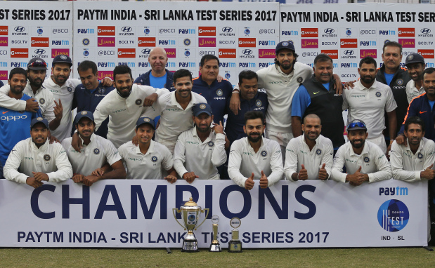 De Silva helps Sri Lanka force draw, India win series