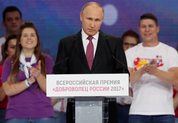 Putin inches toward declaring his re-election bid