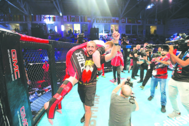 Bahrain fifth in amateur MMA world rankings