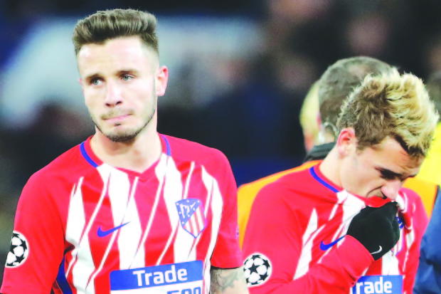 Atletico facing 'reality check' after Champions League exit
