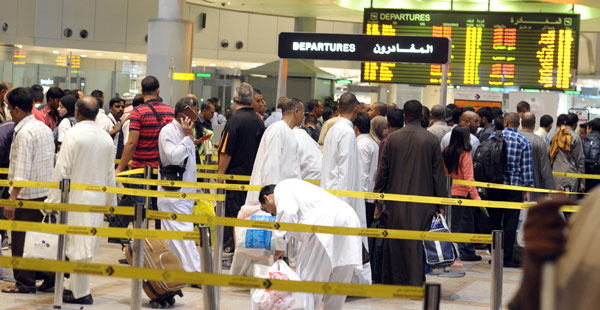 14 million passengers travelled through Kuwait Airport this year