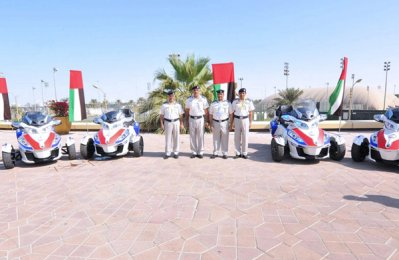 Abu Dhabi Police launches mobike ambulances