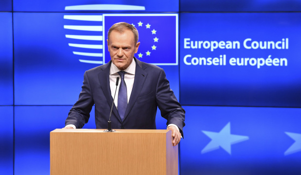 EU's Tusk says 'most difficult challenge' ahead in Brexit talks