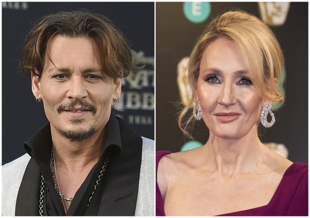 JK Rowling defends Depp casting after fan backlash