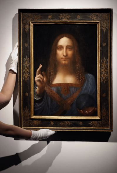 Real buyer of  da Vinci's painting revealed