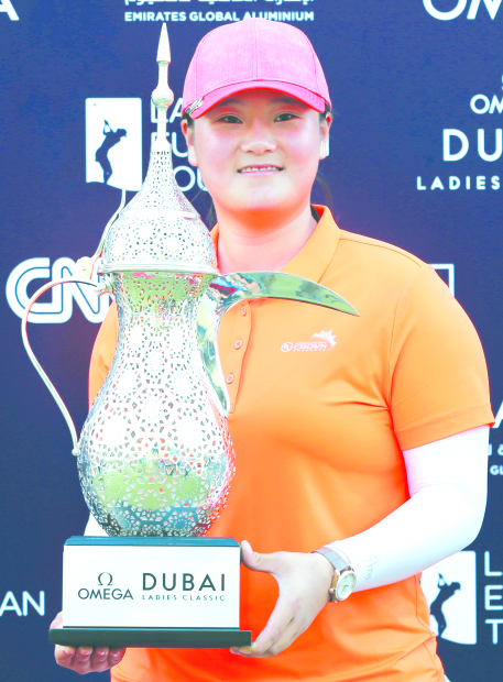 Angel claims Dubai Ladies Classic crown