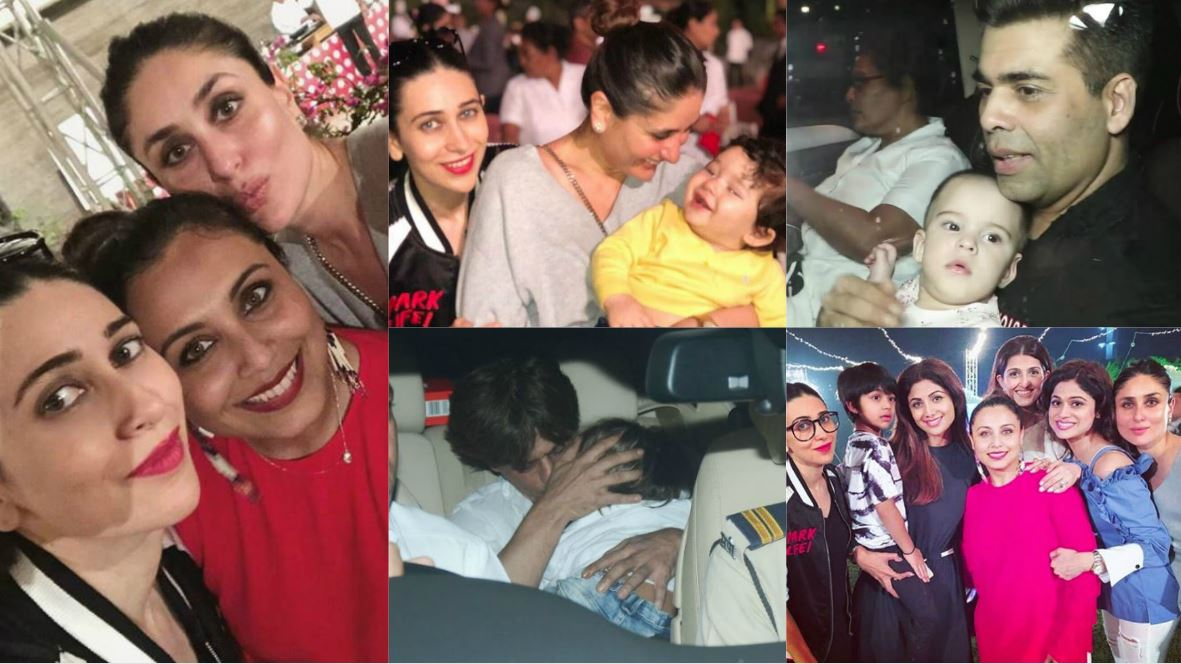 Stars party with their kids at Rani Mukherjee's daughter Adira's second birthday!