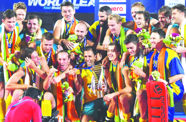 Australia bag world hockey gold