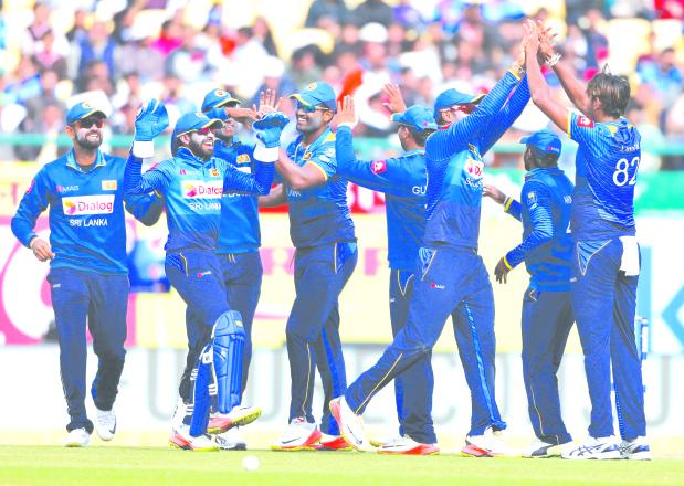 Lanka win with Lakmal heroics