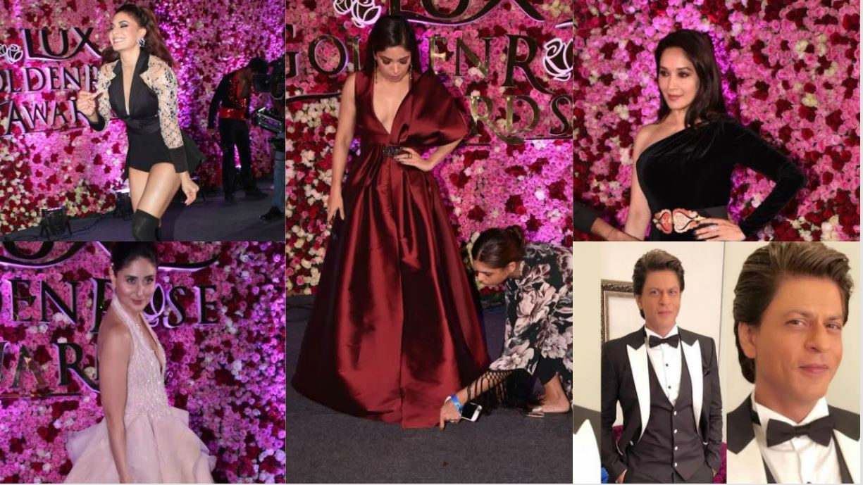 Candid red-carpets photos from Lux Rose Awards featured celebs in 'prom-style' gowns, OTT make-up!