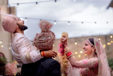 Cute photos and videos from Virat Kohli and Anushka Sharma's wedding in Italy