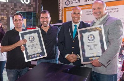 Chevrolet ME breaks two Guinness records