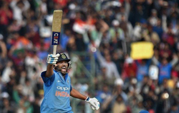 Rohit Sharma becomes world's first batsman to hit three ODI double hundreds