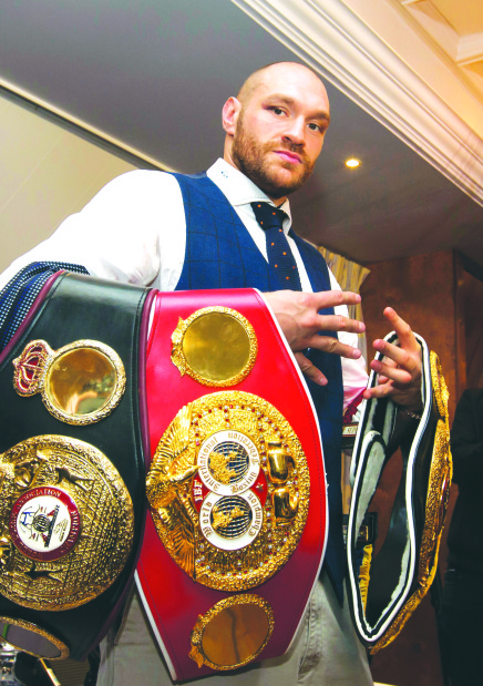 Ex-champion Fury cleared to fight again