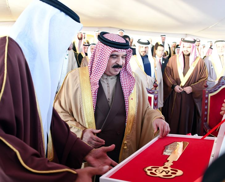 King launches Khalifa Town