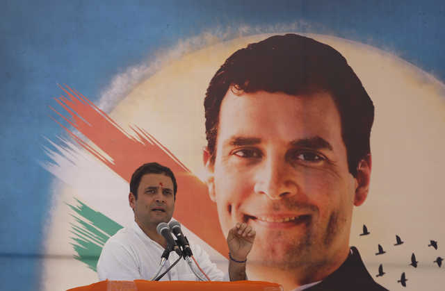 No makeover, BJP had distorted my image: Rahul Gandhi