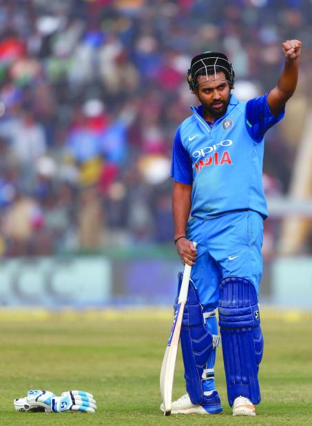 Rohit runs riot! Indian skipper's third one-day double century sinks Sri Lankans