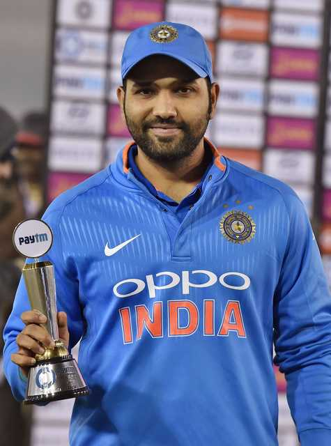 Rohit hails best year of his career