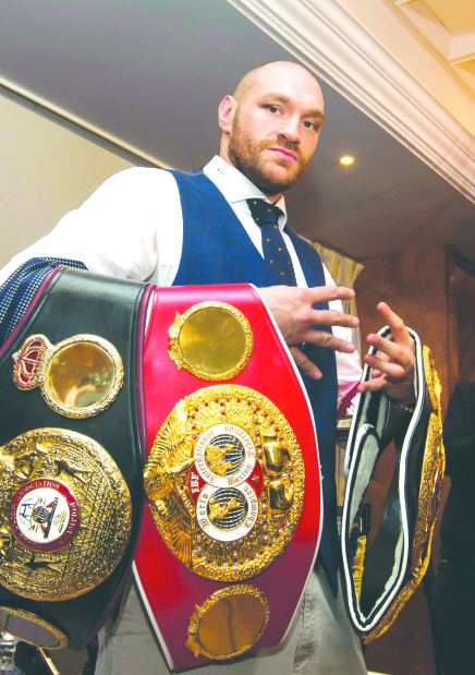 British board to review Fury boxing licence