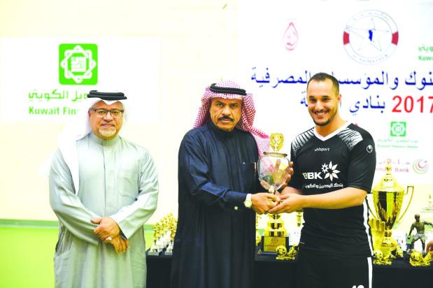 DOUBLE JOY: Khaleeji Bank lift futsal cup and league titles
