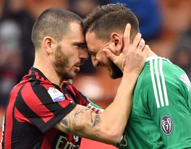 Gianluigi Donnarumma in tears after Milan fans jeer him