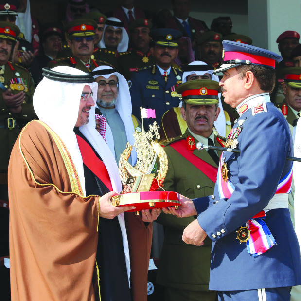 Crown Prince salutes Bahrain police