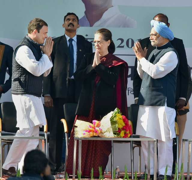 India: Rahul Gandhi takes charge as Congress president